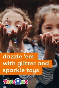 Rise and shine…and we mean, really shine! Sometimes, the perfect toy for kids has a whole lot of dazzle. So we found some awesome sparkly and glittery toys for the kids who just gotta add some glimmer to all that play.