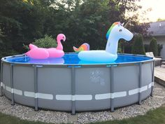 Intex pool landscaping idea