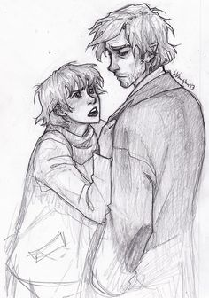 Tonks and Lupin in the end of Half-Blood Prince | burdge-bug