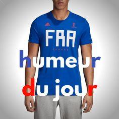adidas Performance France - T-shirt manches courtes - bleu   BrandAlley 57f9dc37432