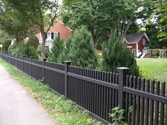 straight picket fence - Google Search