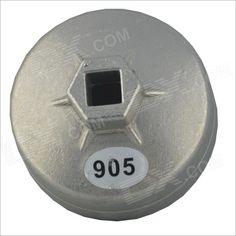 TY-905 Aluminum Alloy Oil Filler Cap for Buick / Mitsubishi / Chrysler - Silver
