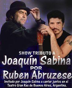 Tributo a Joaquín Sabina por Ruben Abruzese
