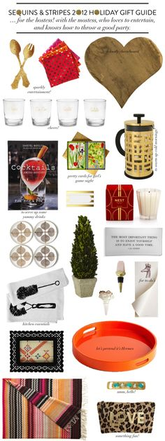 Sequins & Stripes: 2012 Holiday Gift Guide: For the Hostess