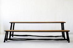 La technique du bois brûlé ou Shou Sugi Ban || Collection Fall / Winter par le designer Valentin Loellmann