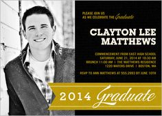 Standout Senior 5x7 Stationery Card By Float Paperie Graduation Invitations Grad Invites
