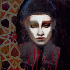 "Saatchi Online Artist: Suhair Sibai; Paint, 2013, Mixed Media ""State of Dissolution!"""