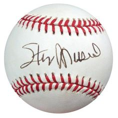 Stan Musial Autographed NL Baseball PSA/DNA #S42417 . $89.00. This is an Official National League Baseball that has been signed by Stan Musial. The autograph has been certified authentic by PSA/DNA and comes with their sticker and matching certificate of authenticity.