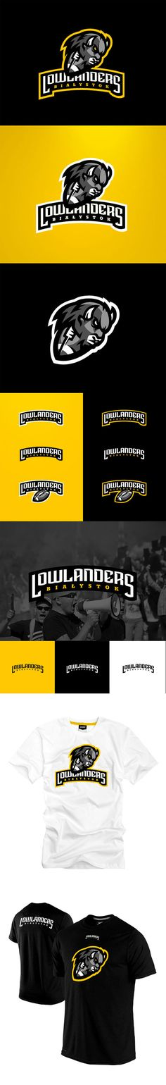 """Lowlanders Bialystok"" - Awesome Sports Logo Designs by Kamil Doliwa 