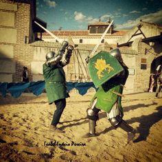 Momento torneo. En Madrigal Medieval 2014