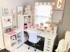 Home office. Furniture from ikea and chair from home goods. Home office, planner desk, craft room, DIY, office decor, planner addict http://hubz.info/116/creative-examples-of-street-art-that-will-blow-your-mind