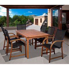Amazonia Cosmopolitan 7-piece Rectangular Dining Set