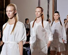 Clean White Color Trend  4 Spring Summer 2013   Backstage @ Nicole Farhi #LFW  #FashionWeek