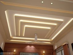 All Time Best Ideas: False Ceiling Design For Salon false ceiling details spaces.False Ceiling Design With Chandelier false ceiling rustic interior design. Gypsum Ceiling Design, House Ceiling Design, Ceiling Design Living Room, Bedroom False Ceiling Design, False Ceiling Living Room, Living Room Designs, Living Rooms, Modern Ceiling Design, Fall Ceiling Designs Bedroom