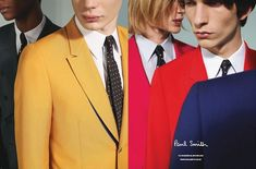 Paul Smith's Spring.Summer 2013 campaign / Shot by Paul Smith himself.