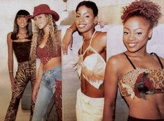 Beyonce Style, Beyonce And Jay Z, Destiny's Child, Second Best, 2000s Fashion, Queen Bees, Beautiful Black Women, Girl Group, Style Icons