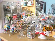 Crafty Reorganisation: Crystal glasswares