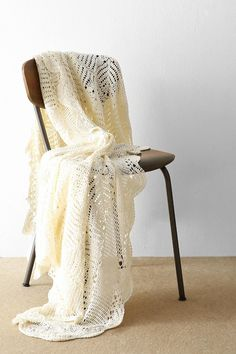 Crochet Throw Blanket - Urban Outfitters