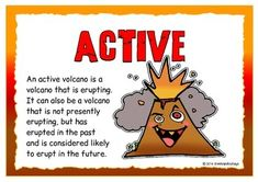 Types of Volcanoes Volcano Science Projects, Science Fair Projects, Science Experiments, School Projects, Volcano Worksheet, Water Cycle Model, Volcano For Kids, 6th Grade Science, Science Worksheets