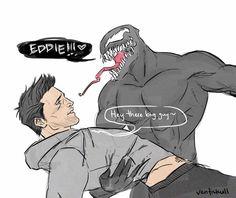 Read 10 from the story Memes bien Gays. Venom Comics, Marvel Venom, Marvel Art, Marvel Avengers, Dc Comics, Venom Spiderman, Batman, Marvel Funny, Marvel Memes
