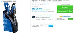 Aparelho de Barbear Gillette Proglide Styler << R$ 5391 em 2 vezes >>