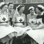 14) Newton Aycliffe, County Durham, England (NA Red Cross nurses