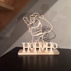 Laser cutting for Christmas Woodworking Projects Diy, Wood Projects, Projects To Try, Christmas Art, Christmas Themes, Wooden Christmas Decorations, Cnc, Scroll Saw Patterns, Xmas Ornaments