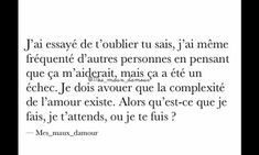 That is the question. Tu Me Manques, Follow Your Heart, Pretty Words, Sentences, Quotations, Me Quotes, Sad, Messages, This Or That Questions