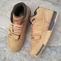 Nike Air Trainer 1 -Wheat (Release Date- October 2014) #kicksfever #nike #airtrainer1