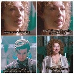 River Song:: The Name of the Doctor. He loved her so much. I'M BAWLING LIKE A BABY!!!!!!!