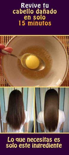 Revive tu cabello dañado en solo 15 minutos