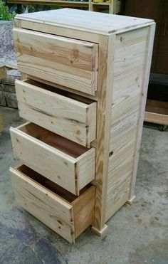 Pallet-Wood-Chest-of-Drawers.jpg (620×976):