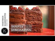 Η πιο Εύκολη Τούρτα Σοκολατίνα | Dimitriοs Makriniotis - YouTube Nigella, Youtube, Desserts, Food, Tailgate Desserts, Deserts, Essen, Postres, Meals