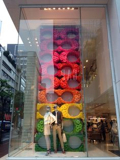 Our latest Coach windows in Ginza, Japan