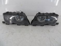 63127165823 63127165824 02-03 BMW 3 Series M3 Bi-Xenon Headlight Pair OEM 93 E46