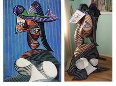 John Price Art: Cubist Sculpture