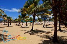 Trendy Miami Style beach of Condado at Ventana del Mar Park, Condado, San Juan, Puerto Rico
