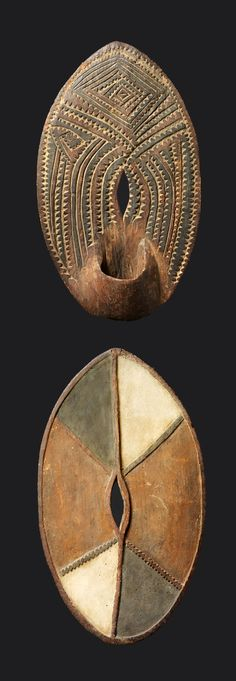 "Africa | ""Ndome"" shield from the Kikuyu people of Kenya 
