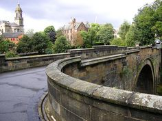 Bridge of Sighs from Glasgow Cathedral to the Necropolis, Glasgow, Scotland, 2009