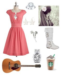 """""""Corel 2"""" by knipphannah ❤ liked on Polyvore featuring Accessorize, Emily and Fin, Liz Claiborne, Victoria's Secret and Hot Topic"""