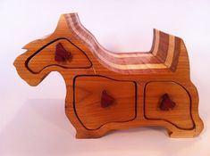 Scottie Dog Bandsaw Box