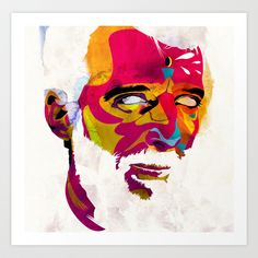 Mr.K+Art+Print+by+Alvaro+Tapia+Hidalgo+-+%2420.00