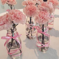 Bridal Shower Decorations Centerpieces - New ideas Girl Birthday Decorations, Baby Shower Decorations For Boys, Wedding Decorations, Ballerina Birthday, Barbie Birthday, Baby Shower Princess, Ballerina Baby Showers, Baby Girl Baptism, Bridal Shower Centerpieces