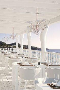 Cotton Beach Club, Ibiza beach wedding venue.