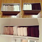 簡単スッキリ!バスルーム収納にはファイルボックス!