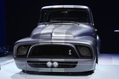 Gene Simmons 55 ford f 100 snake is what he calls her.
