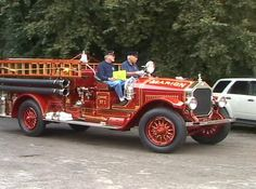 Antique Fire Truck Parade