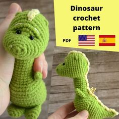 Crochet Toys Patterns, Amigurumi Patterns, Stuffed Toys Patterns, Knitting Patterns, Handmade Ideas, Handmade Toys, Crochet Hooks, Knit Crochet, Amazing Toys