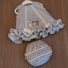 Little Girl Dresses, Little Girls, Girls Dresses, Baby Girl Dress Patterns, Baby Dress, Cute Baby Clothes, Baby Sewing, Cute Babies, Sewing Patterns