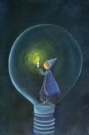 """Per diventare libero fuori, dovrai prima imparare a esserlo dentro. (Massimo Gramellini, da """"L'ultima riga delle favole"""") Illustrazione di Marie Cardouat."""